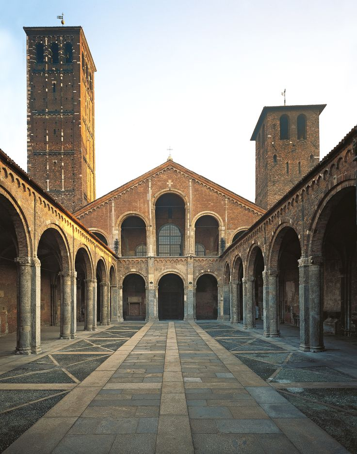 Established in A.D. 379 by Sant Ambrogio (Milan's patron saint), Basilica di Sant'Ambrogio is one of the city's most sacred locations. Photo: G. Cigolini/Getty Images