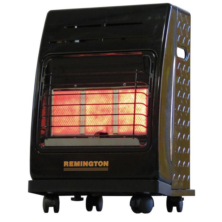 Remington 18,000-BTU Portable Cabinet Propane Heater