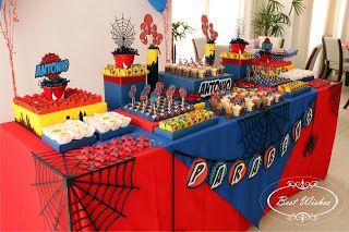 Best Wishes Design: Festa para o Homem Aranha