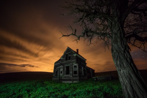 Abandoned place in Oregon