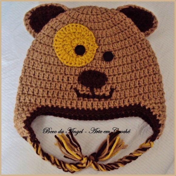 Touquinhas graciosas feitas em lã para crianças de todas as idades utilizando a técnica de crochê. As crianças amam. Podem ser feitas na sua cor favorita. R$ 40,00