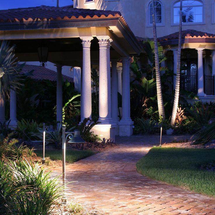Brilliant lighting for gazebos and pergolas: Fixtures Used – CAST Classic Savannah Area/Path Light (CSA1CB, CSA1LED2), CAST Classic LED Bullet (CBLED141), CAST Classic MR-16 Bullet Light (CBL1CB), CAST Craftsman Series Bronze Spot/Wash Light (CSSL10536B, CSSL18336B, CSSL18354B, CSSL25036B, CSSL25054B (New), CCW105B (New), CCW270B)