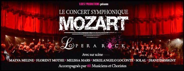 Vous viendrez nous voir?Mozart L'Opéra Rock, de retour en France en version CONCERT SYMPHONIQUE! À partir du 17 avril 2014 en France, Belgique et Suisse!Toutes les infos sur la page officielle à LIKER, PARTAGER:Mozart l'Opera Rock Le ConcertLove MM