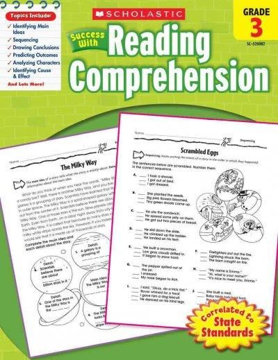 Presents a collecton of activities to help students improve reading comprehension skills.