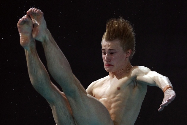 This Is How Olympic Divers Really Look While Diving #Funny