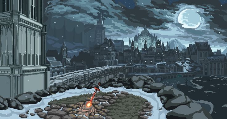 Pixel Dark - Irithyll of the Boreal Valley