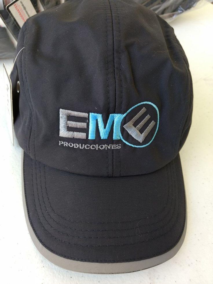 Gorras bordadas para Eme Producciones 2018