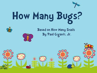 Here's a PPT and activity idea for use with the book HOW MANY SNAILS: A COUNTING BOOK by Paul Giganti.