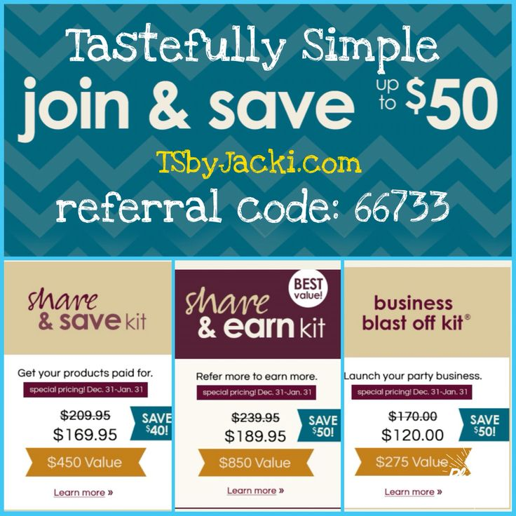 83 best Tastefully Simple -The Why images on Pinterest | Tastefully ...