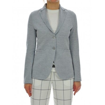 GIACCA  DONNA #jacket #grey #giacca #grigia #casual #daywear #shoponline #caneppele #trento #brunellocucinelli #giannichiarini #moncler #barba #harriswharf #churchs #lautrechose #rialto48 #ss2017 #woman #collection #leathercrown #madeinitaly