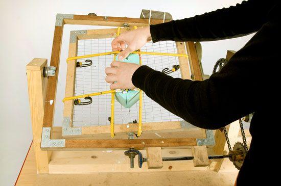 rotational moulding DIY machine