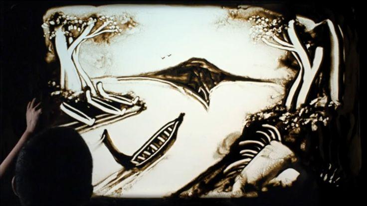 サンドアートで訴える、マオリの人々への「有権者登録」啓発キャンペーン  |  AdGang