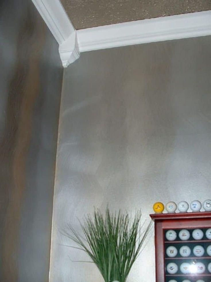 Interior Metallic Wall Colors   Silver paint walls ...
