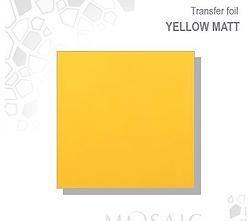 Mosaic Transfer Foil Matt Yellow  MATT YELLOW TRANSFER FOIL £2.50 www.susansnailstore.co.uk  CHECK OUT OUR MIX&MATCH OFFER ON TRANSFER FOILS!