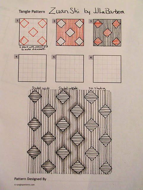 http://tinkertangles.blogspot.com/2011/06/tangle-pattern-zuan-shi.html