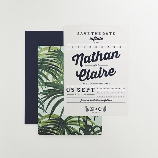Stationery, so perfect for a Moby Dicks wedding || @story_of_us