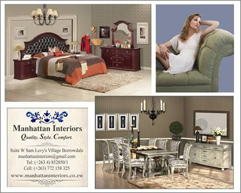 Get Your Furniture At Manhattan Interiors Above Econet Sam Levys Village Borrowdale Bedroom PicturesZimbabweManhattan