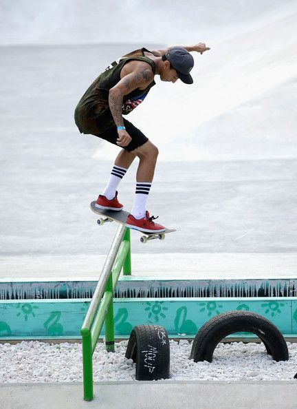 Nyjah Huston Photos: X Games Austin. Sheesh I love this guy!!! Not his socks though lol