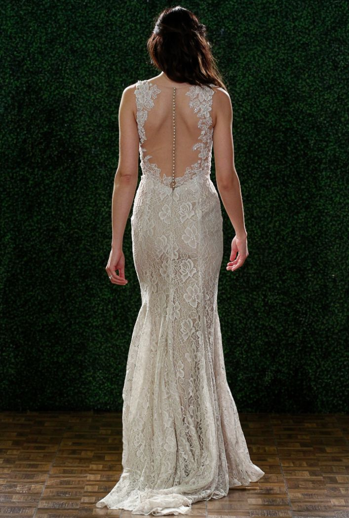 Watters Wedding Dresses Spring 2015 Collection. To see more: http://www.modwedding.com/2014/04/23/watters-wedding-dresses-spring-2015/ #wedding #weddings #wedding_dress