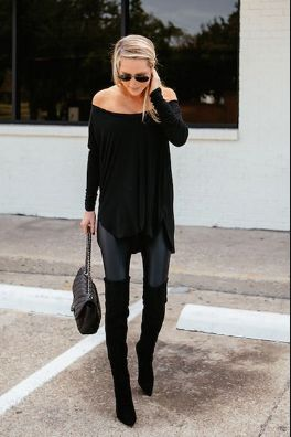 //pinterest Esi Braimah // #clothes #style #outfit Clothing, Shoes & Jewelry - Women - leggings outfit for women - http://amzn.to/2kxu4S1