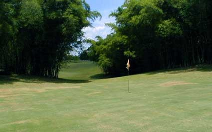Manchester Golf Club on Jamaica's South Coast. Built in 1865, the club is the longest surviving in the Western hemisphere.