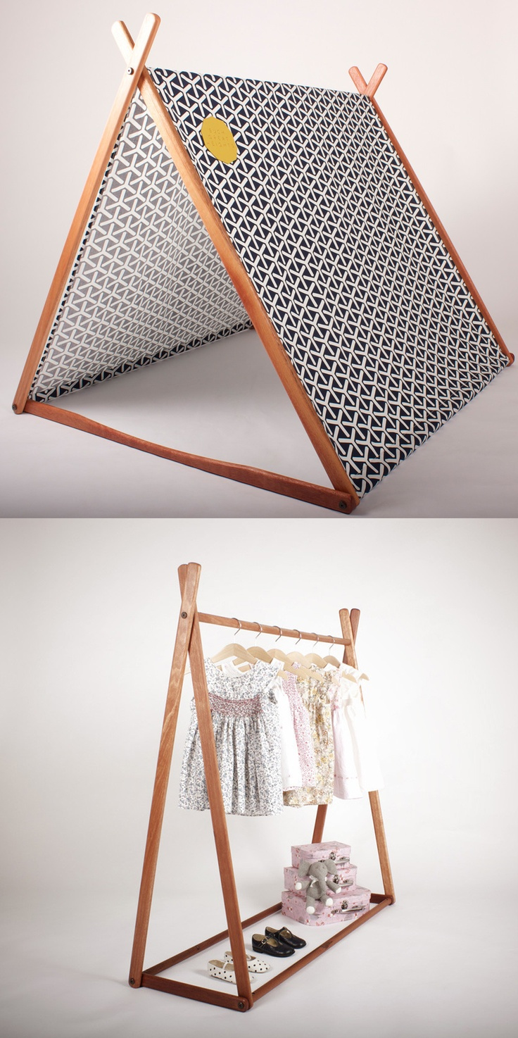 Such Great Heights | Wonder Tent + Clothes Rack