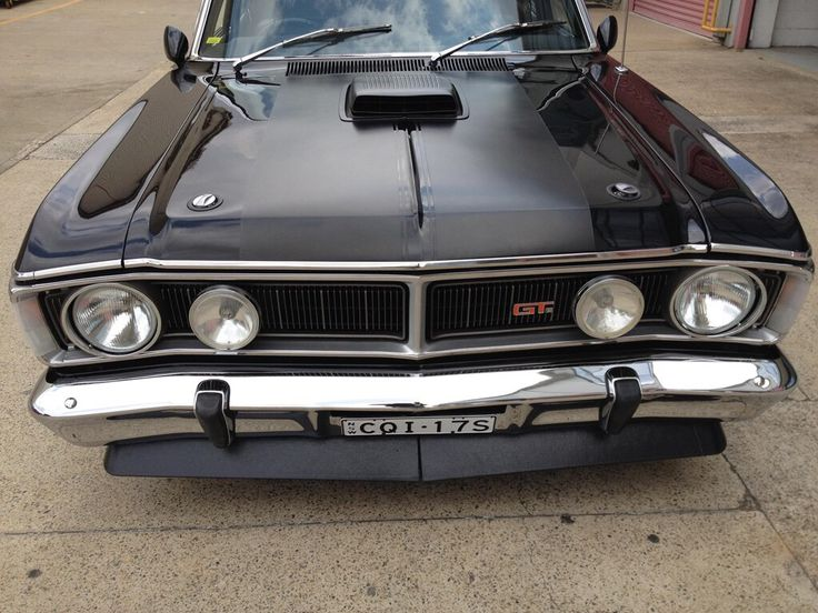 Meatiest front end ever!! XY GT Falcon