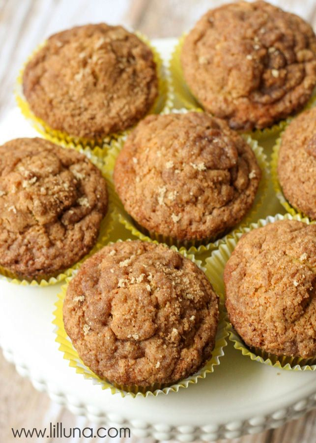 Simple, quick and delicious Banana Crumb Muffins