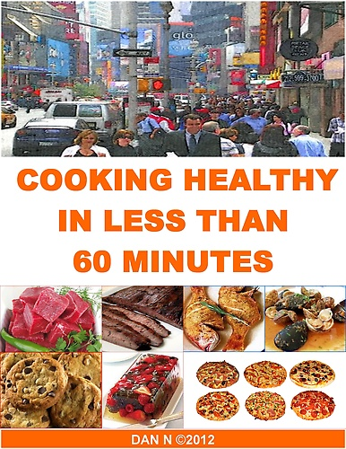 60 Minutes Cookbook by Dan N at Sony Reader Store