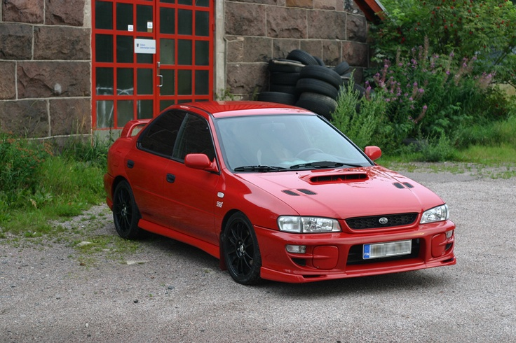 1999 Subaru Impreza GT. I blame this individual for my passion for Subarus.