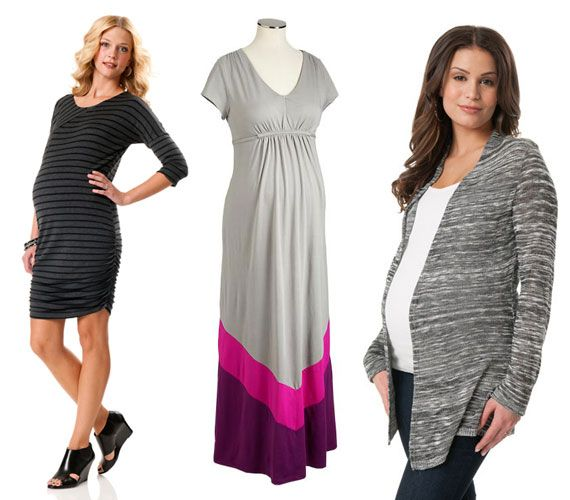 I like the one in the middle ... maternity clothing, spring maternity clothes, affordable maternity clothes