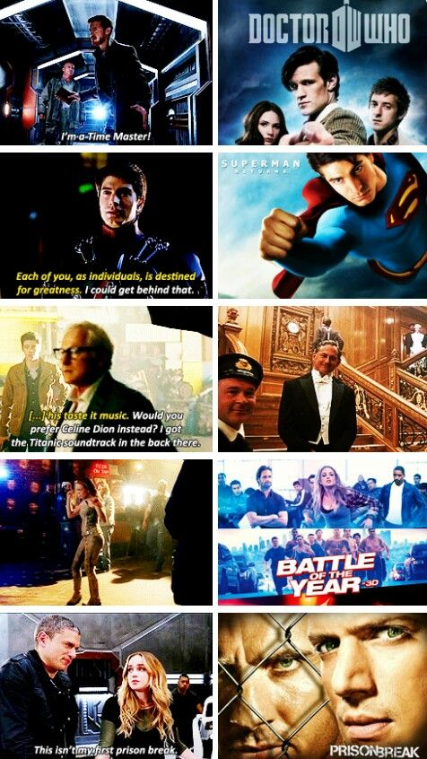 Legends of Tomorrow + actor references.