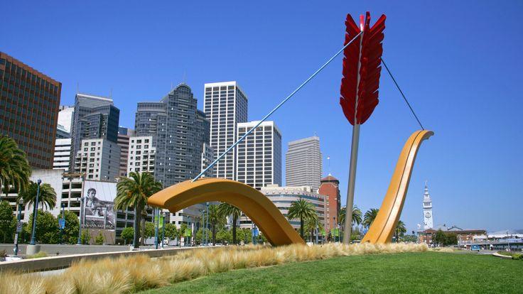 Cupid's Arrow, Along the Embarcadero, San Francisco, California - http://imashon.com/travel/cupids-arrow-along-the-embarcadero-san-francisco-california.html