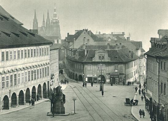 Pohořelec Square - vintage photo