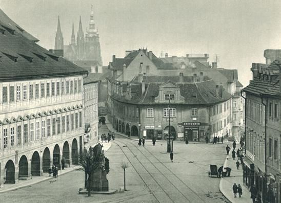 Pohořelec Square - vintage photo