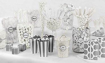 White Candy Buffet PARTYCITY