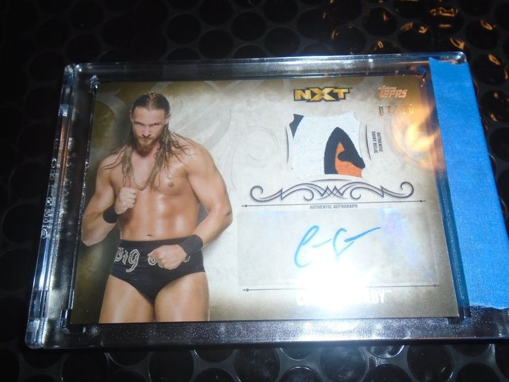 2016 Topps WWE Undisputed Autograph Relic Auto Colin Cassady Gold /10  #wwe #topps #sawft
