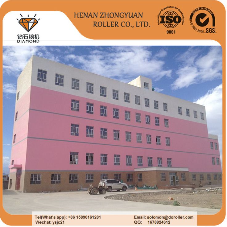 130Ton per day flour mill plant from Zhongyuan Roller Co,.