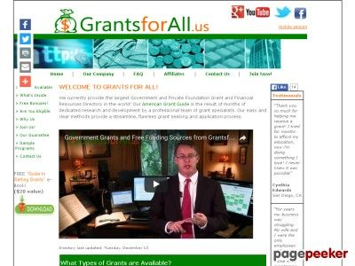 awesome New* Government Grants & Free U.s. Money Sources!
