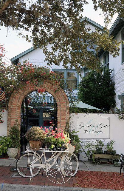 The Garden Gate Tea Room Mt Dora Fl
