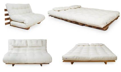 Futon Company Sofá-cama casal Pool 140 foto 1