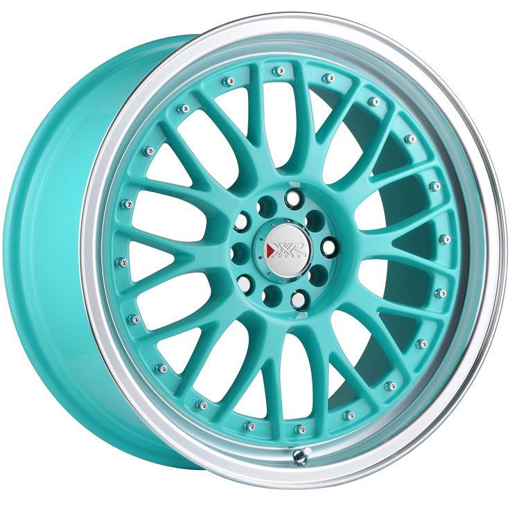 Tiffany Blue Wheel Rim