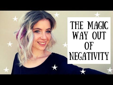 The Law of Attraction | How To Get Out Of A Negative Situation