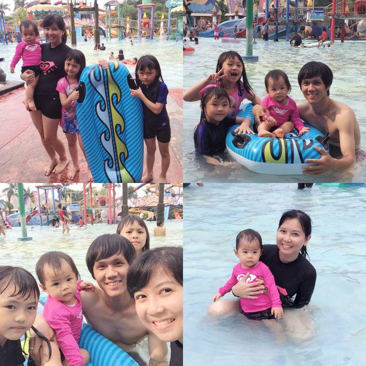 Swimming time!! Hihihi puji Tuhan. Makasih Tuhan Yesus. Love love love..