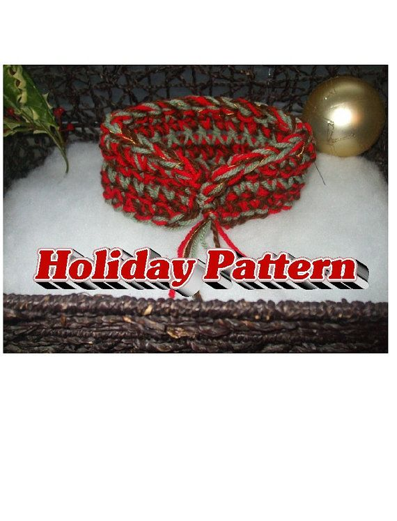 Holiday Chunky PATTERN  Simple Holiday Charm by TiStephani on Etsy, $1.00
