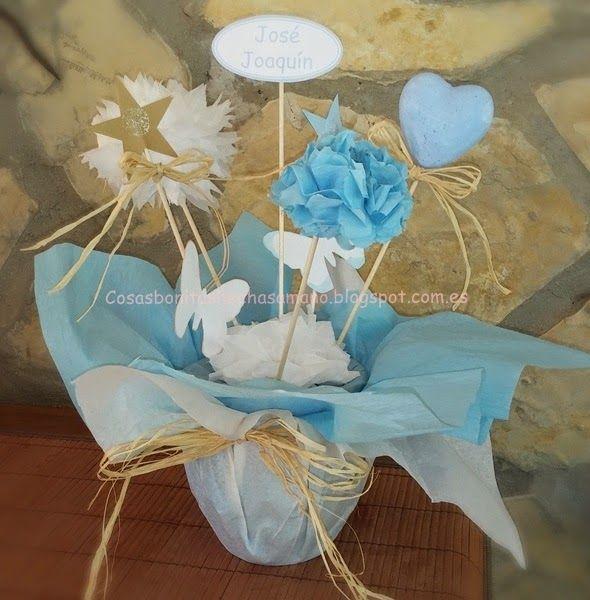 Decoraci n para bautizo de ni o bautizos y comuniones for Decoracion para bautizo