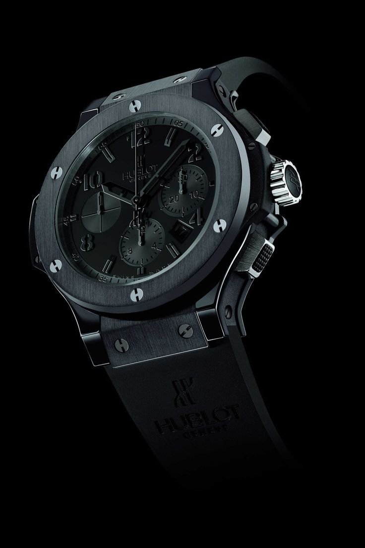 TOP 5 HUBLOT ALL BLACK WATCHES /HUBLOT