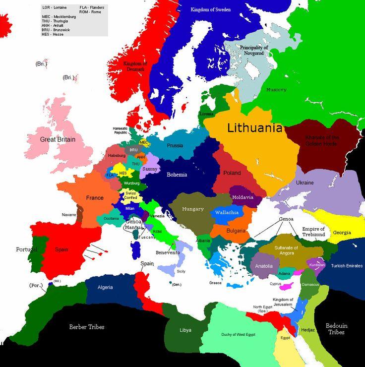 1517-ontstaan katholicisme in Europa-