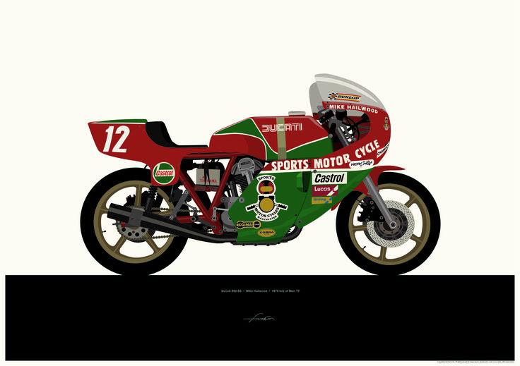Motorcycle Art - Francis Ooi