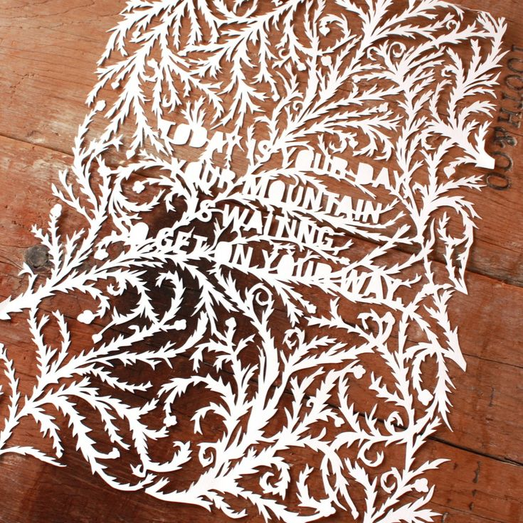 22 best paper cutting tutorials images on pinterest for Beautiful paper cutting art